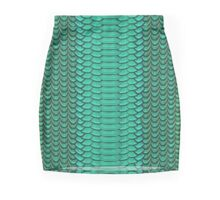 Texture Mini Skirt