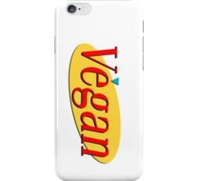Seinfeld Vegan  iPhone Case/Skin