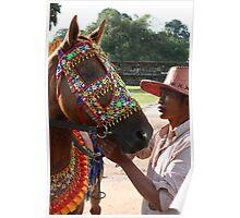 Siem Reap Horseman Poster