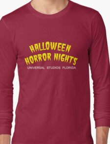 Retro Horror Nights Long Sleeve T-Shirt