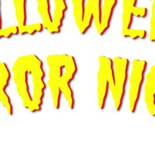 Retro Horror Nights Sticker