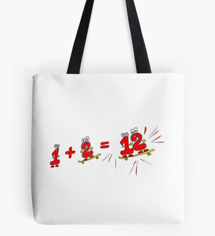 Drive the Calculator Nuts 3 Tote Bag