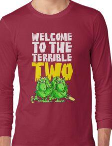 Graphic Terrible Two (dark) Long Sleeve T-Shirt