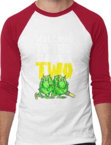 Graphic Terrible Two (dark) Men's Baseball ¾ T-Shirt