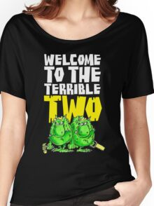Graphic Terrible Two (dark) Women's Relaxed Fit T-Shirt