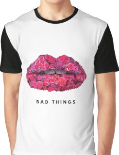 Bad Things Art 4 (BLACK/WHITE) Graphic T-Shirt