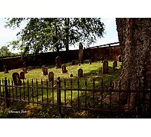 An Old Family Cemetery Photographic Print