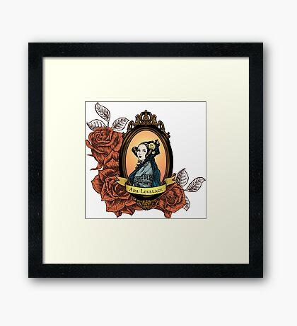 Ada Lovelace Framed Print