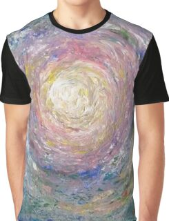Swirling Oceanic Depths Graphic T-Shirt