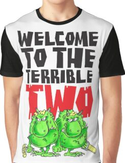 Graphic Terrible Two (white) Graphic T-Shirt