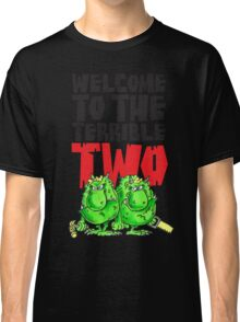Graphic Terrible Two (white) Classic T-Shirt