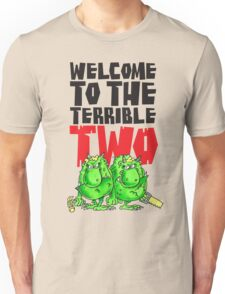 Graphic Terrible Two (white) Unisex T-Shirt