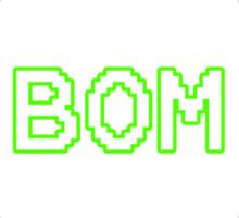 TEAM BOM Sticker