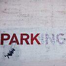 Banksy in LA by Santamariaa