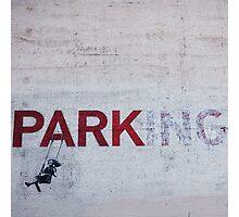 Banksy in LA Photographic Print