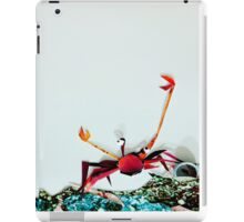 Crab Ready for a Fight iPad Case/Skin