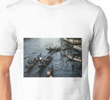 Evening on Grande Canale Venice Italy 19840729 0068  Unisex T-Shirt