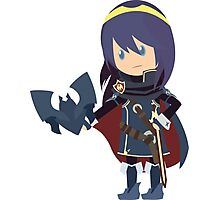 Chibi Lucina Vector Photographic Print