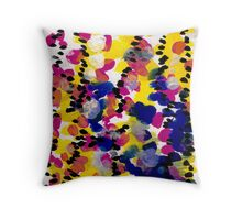 Watermelon Abstract Throw Pillow