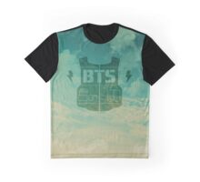 BTS- Logo Sky Graphic T-Shirt