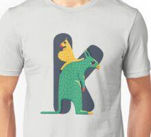 K for Kangoroo Unisex T-Shirt