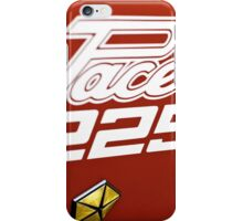 Red Valiant Pacer iPhone Case/Skin