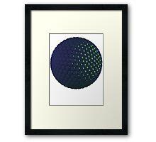 Spheres Sphere Framed Print