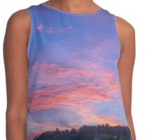 Flame in the Sky | Flamme im Himmel Contrast Tank