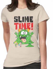 Graphic Slimey Joe Womens Fitted T-Shirt