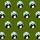 Baby Panda (Pattern 3) by Adamzworld