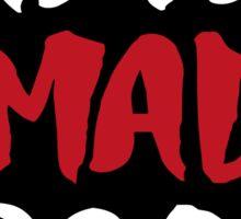 Arya Mad Bro? Sticker
