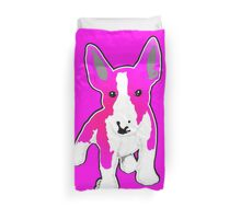 Pink Graphic EBT Puppy Duvet Cover