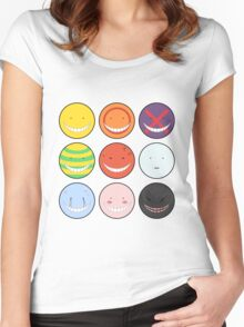 Koro-sensei - Assassination Classroom Women's Fitted Scoop T-Shirt