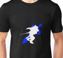 Super Smash Bros. Melee Marth Silhouette Unisex T-Shirt