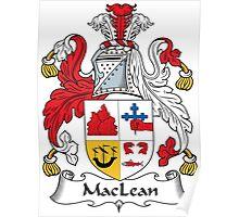MacLean Coat of Arms (of Duart) Poster
