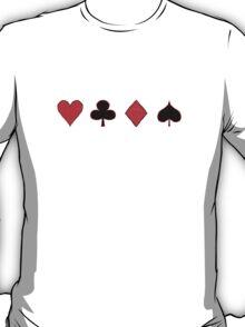 Four Suits T-Shirt