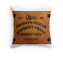 Ouija Board Occult Graphics Throw Pillow