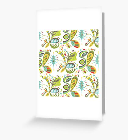 Goodness white Greeting Card