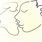 The Kiss V -(010914)- Digital artwork/Harmony by paulramnora