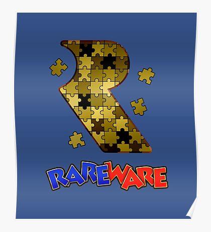 Rareware Banjo-Kazooie Style Poster