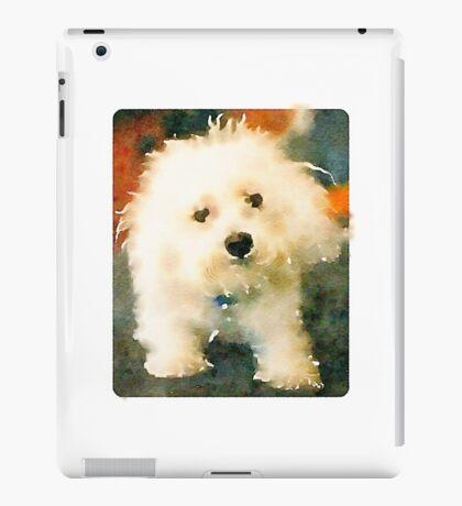 Shaggy Bichon iPad Case/Skin
