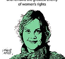 Annie Laurie Gaylor Women's Rights by DJVYEATES