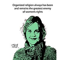 Annie Laurie Gaylor Women's Rights Photographic Print