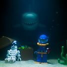 Sunken Lego treasure by Kevin  Poulton - aka 'Sad Old Biker'