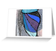 M. BUTTERFLY CROSS SECTION Greeting Card