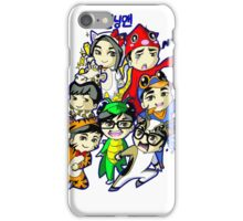 Running Man Kigurumi iPhone Case/Skin
