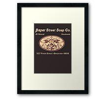 Paper Street Soap Co.T-Shirt Framed Print
