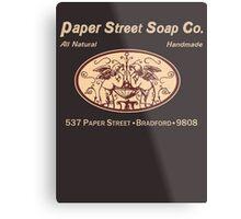 Paper Street Soap Co.T-Shirt Metal Print