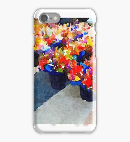 Farmer's Market Flowers iPhone Case/Skin