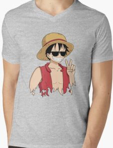 """ONE PIECE: """"The Cool Captain"""" Luffy In Shades T-Shirt"""